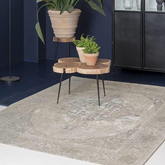 Brinker carpets Vintage Vloerkleed - Meda Zilvergrijs