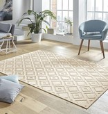 Mint Rugs Viscose Vloerkleed - Shine Iris Creme