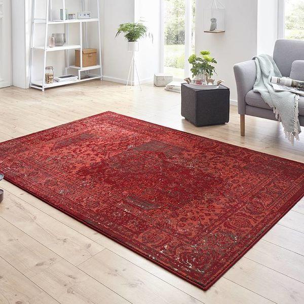 Vintage vloerkleed - Susa safira rood
