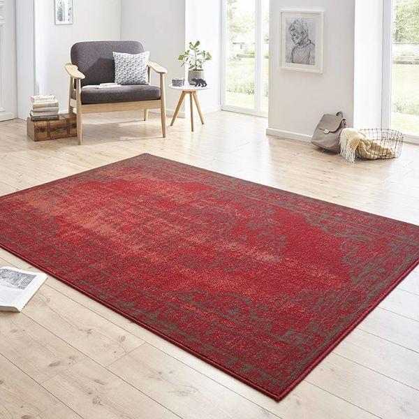 Vintage vloerkleed - Susa yuma rood