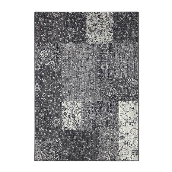 Hanse Home Patchwork vloerkleed - Susa kirie grijs