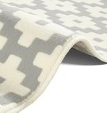 Hanse Home Modern Vloerkleed - Susa lattice grijs Creme