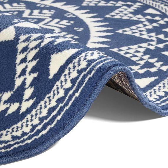 Hanse Home Rond vloerkleed - Susa valencia blauw