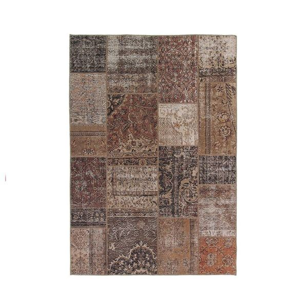 Patchwork vloerkleed -  Bukan Antik Rust
