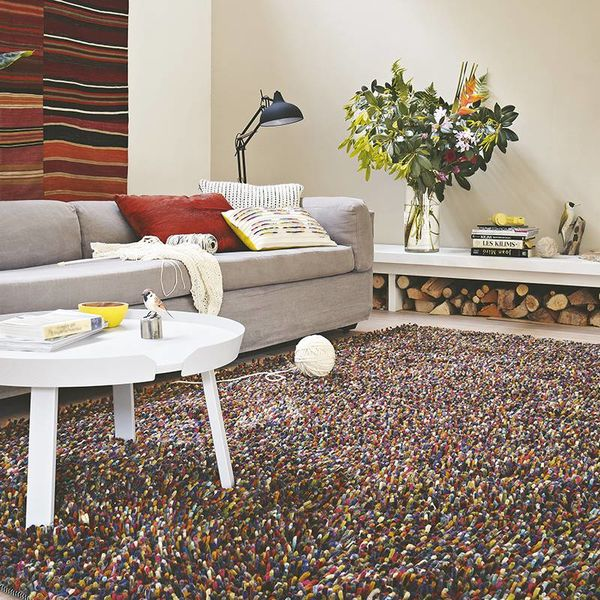 Brink & Campman Wollen vloerkleed - Rocks Mix 70415 Intens
