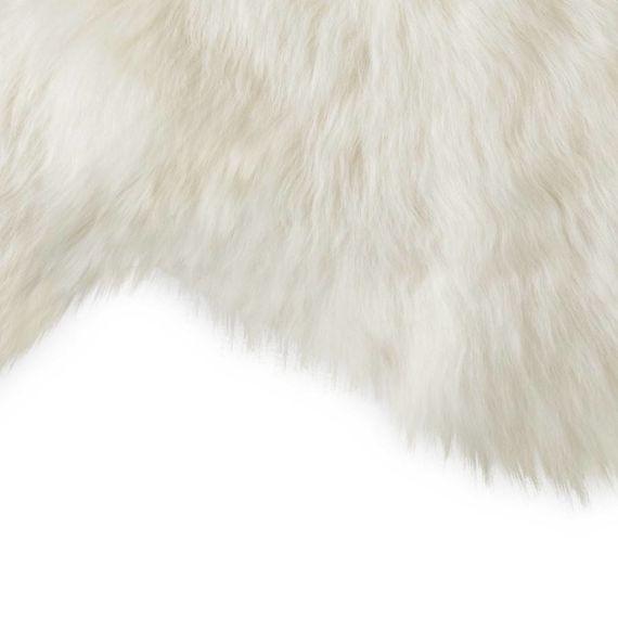 Echt Schapenvacht - wit  100cm