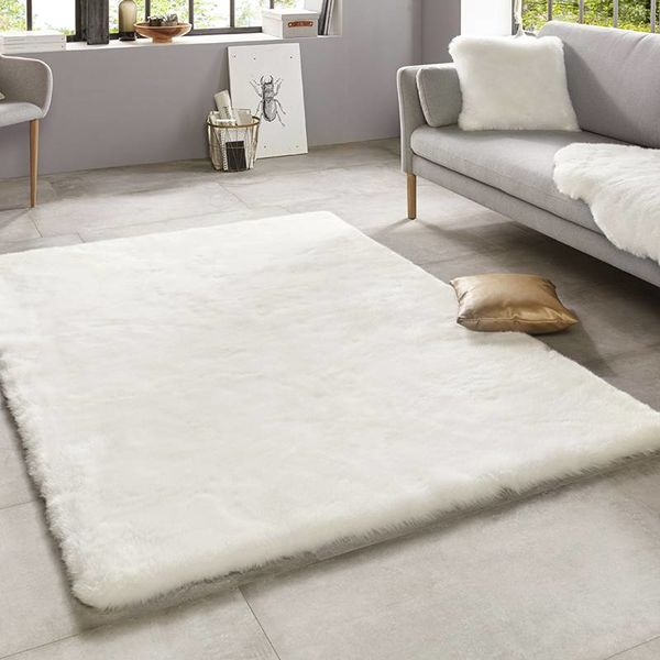 Mint Rugs Hoogpolig vloerkleed - Superior Wit