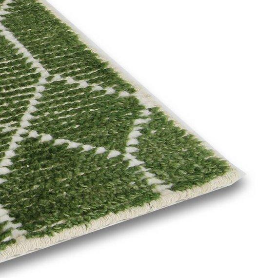 Brinker carpets Bamboe zijde Vloerkleed - Laatz Army green