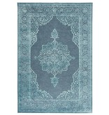 Mint Rugs Viscose Vloerkleed - Shine Willow Blue
