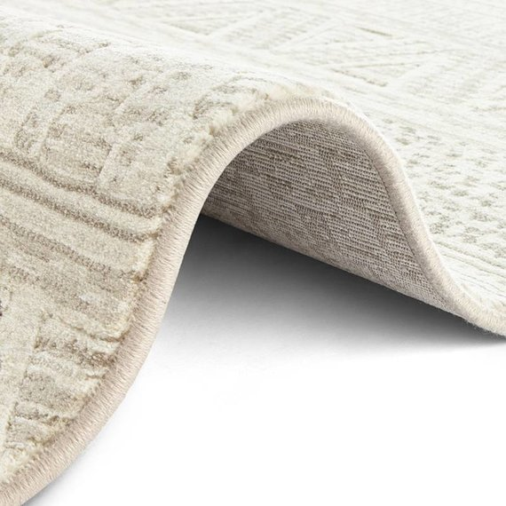 ELLE Decor Modern Vloerkleed - Arty Beige Creme