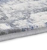 ELLE Decor Modern Vloerkleed - Arty Blauw/Grijs Brush