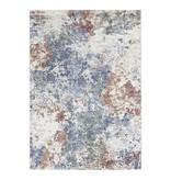 ELLE Decor Modern Vloerkleed - Arty Blauw/Groen Splash