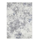 ELLE Decor Modern Vloerkleed - Arty Grijs/Blauw Splash
