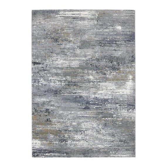 ELLE DECORATION Modern Vloerkleed - Arty Blauw/Green Wash