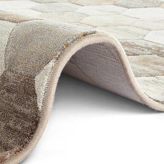 ELLE Decor Modern Vloerkleed - Arty Beige/Bruin Camouflage