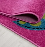 Adana Carpets Kindervloerkleed - Mila Uiltjes Lila