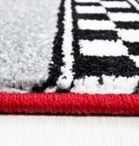 Adana Carpets Kindervloerkleed - Mila Auto Rood