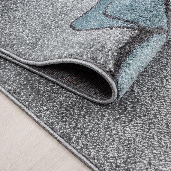 MoMo Carpets Kindervloerkleed - Beertje Blauw