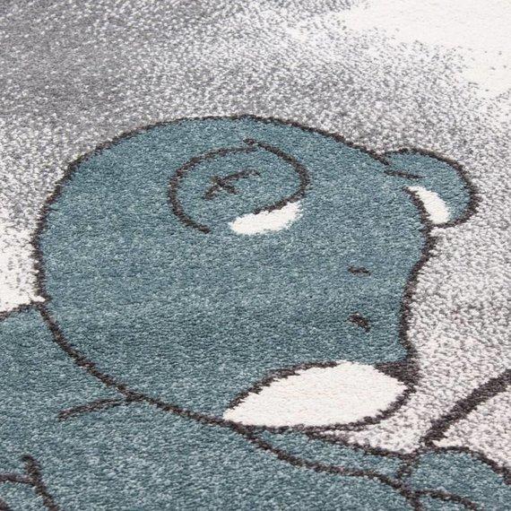 Adana Carpets Kindervloerkleed - Anna Beertje Blauw