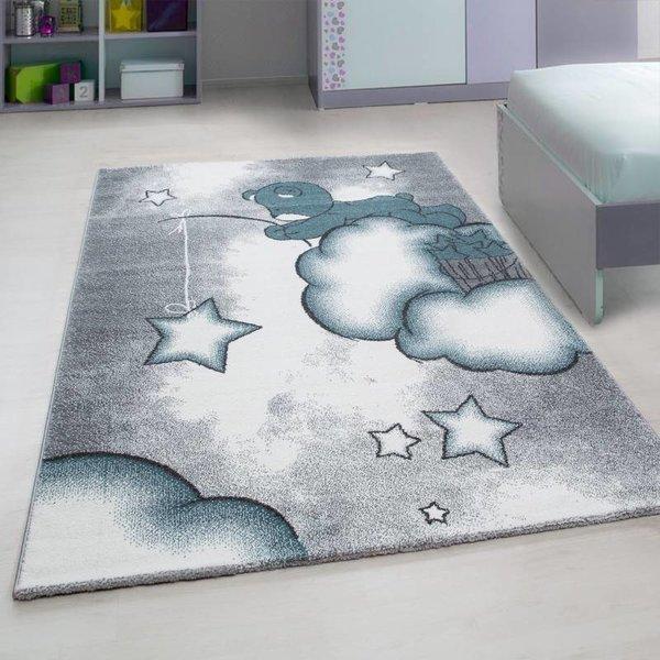 Adana Carpets Kindervloerkleed - Beertje Blauw