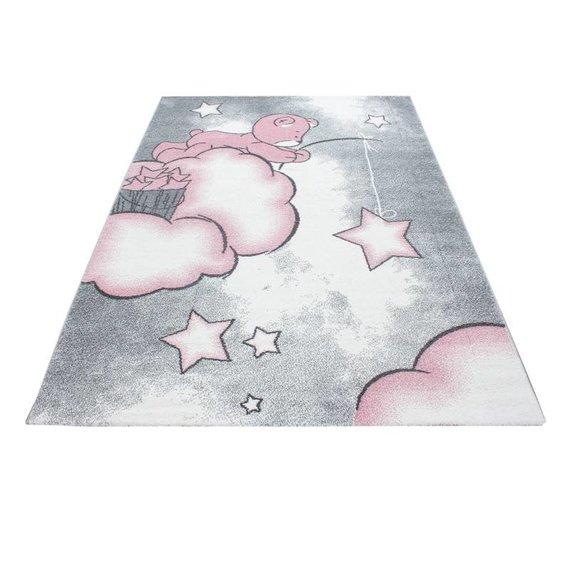 MoMo Carpets Kindervloerkleed - Beertje Roze