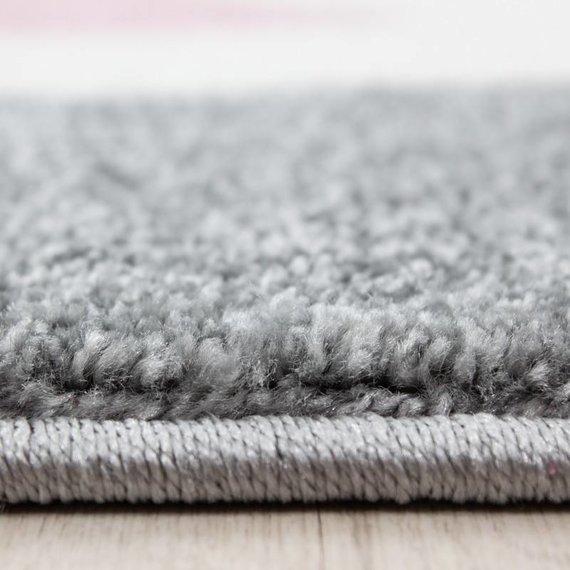 Adana Carpets Rond Kindervloerkleed - Anna Kat Roze