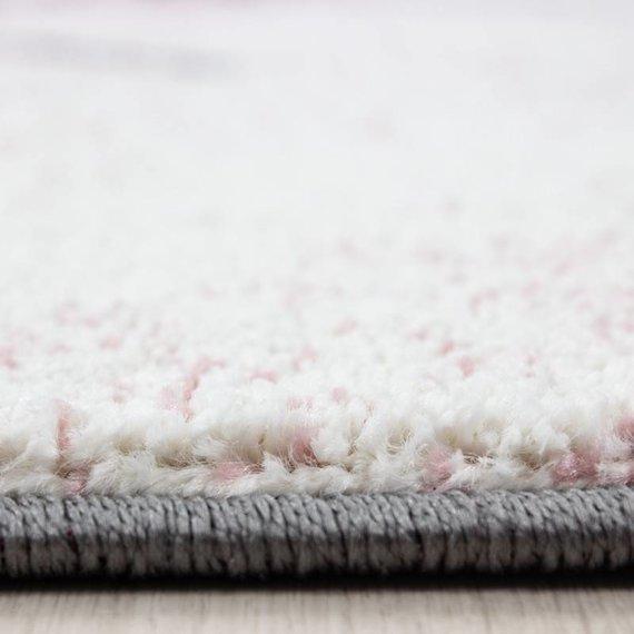 Adana Carpets Rond Kindervloerkleed - Anna Olifant Roze