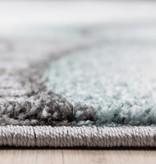 Adana Carpets Rond Kindervloerkleed - Anna Beertje Blauw