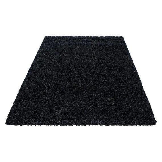 Hoogpolig vloerkleed - Life Zwart