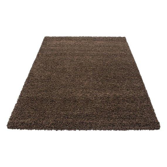 Adana Carpets Hoogpolig vloerkleed - Life Bruin