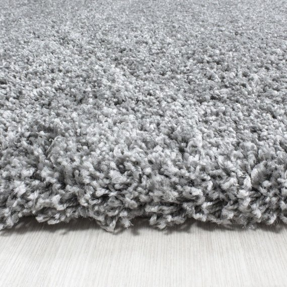 Adana Carpets Hoogpolig vloerkleed - Life Lichtgrijs