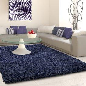 Adana Carpets Hoogpolig vloerkleed - Life Blauw