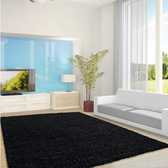 Adana Carpets Hoogpolig vloerkleed - Life  Antraciet