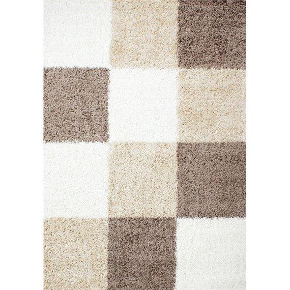 Adana Carpets Hoogpolig vloerkleed - Cube Mokka