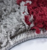 Adana Carpets Hoogpolig vloerkleed - Cube Rood