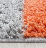 Adana Carpets Hoogpolig vloerkleed - Cube Terracotta