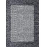 Adana Carpets Hoogpolig vloerkleed Edge - Grijs