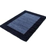 Adana Carpets Hoogpolig vloerkleed - Edge Blauw