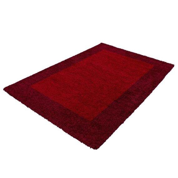 Hoogpolig vloerkleed - Edge Rood