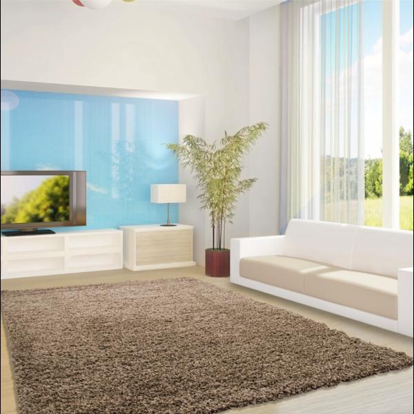 Adana Carpets Hoogpolig vloerkleed - Life Mokka