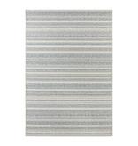 ELLE Decor Laagpolig vloerkleed – Bloom Creme/Aqua Torcy