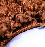 Adana Carpets Rond Hoogpolig vloerkleed - Life Terra