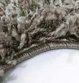 Adana Carpets Rond Hoogpolig vloerkleed - Edge Taupe