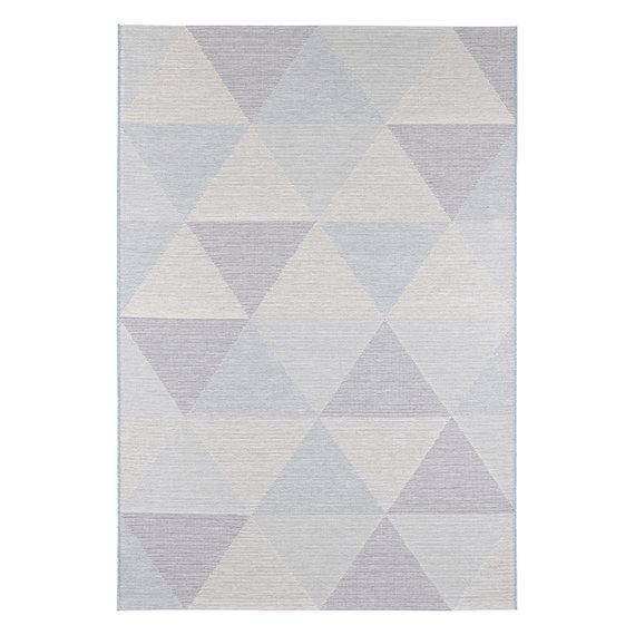 ELLE DECORATION Modern vloerkleed – Secret Blauw Sevres