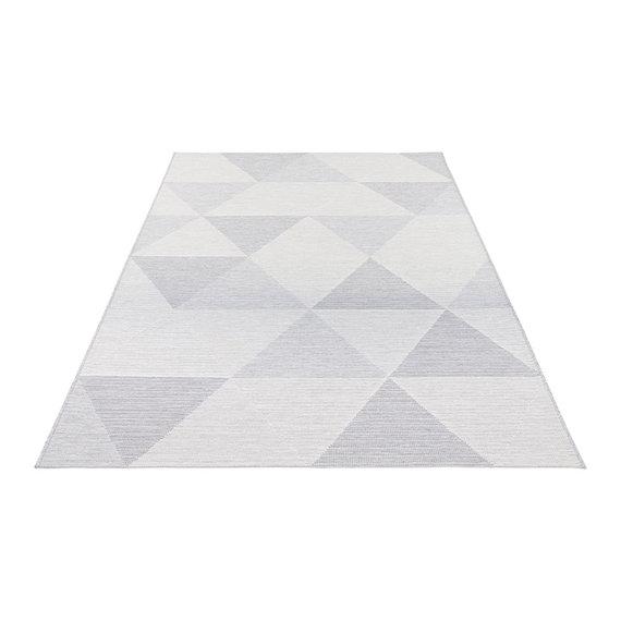 ELLE DECORATION Modern vloerkleed – Secret Lichtgrijs Sevres
