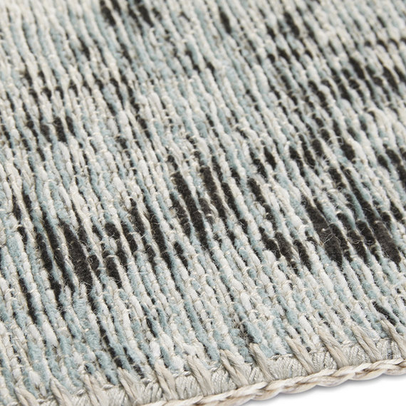 ELLE Decor Vintage vloerkleed – Pleasure Blauw/Zwart Vertou