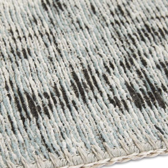 ELLE DECORATION Vintage vloerkleed – Pleasure Blauw/Zwart Vertou