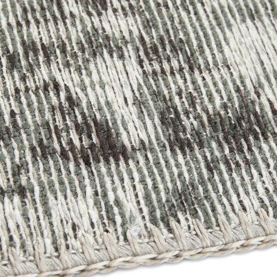 ELLE DECORATION Vintage vloerkleed – Pleasure Groen/Zwart Vertou