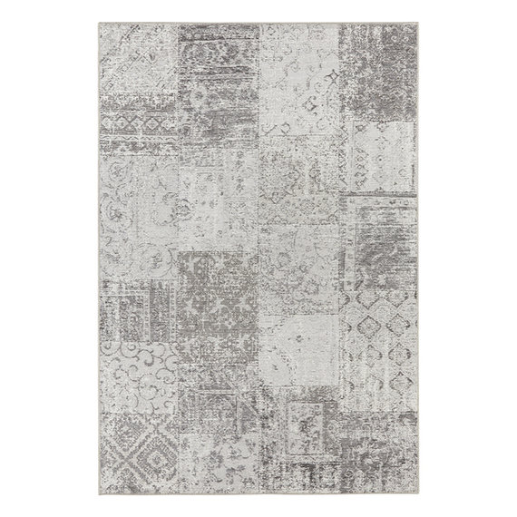 ELLE Decor Patchwork vloerkleed – Pleasure Grijs/Creme Denain