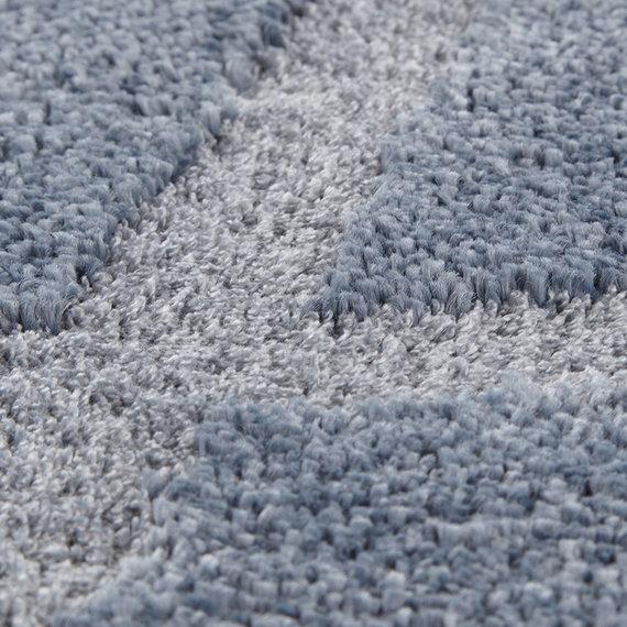 ELLE DECORATION Scandinavisch vloerkleed – Maniac Blauw/Zilver Lunel